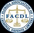 Logo for the Florida Association of Criminal Defense