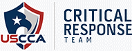 Logo for the USCCA certified basic handgun course critical response team