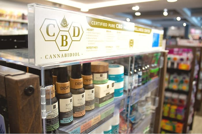 cbd buying tips in-store display