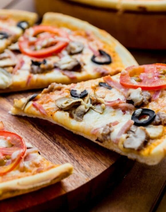 A delicious slice of pizza isn't as bad for you as you might think
