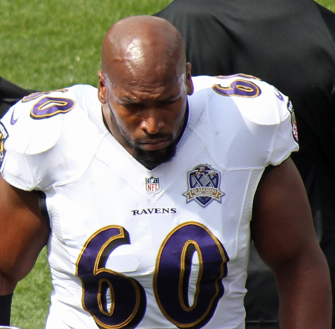 former American football offensive tackle, Eugene Monroe