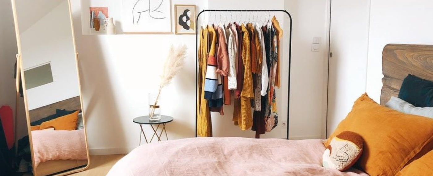 a cluttered room in need of organizing as a fun way to destress