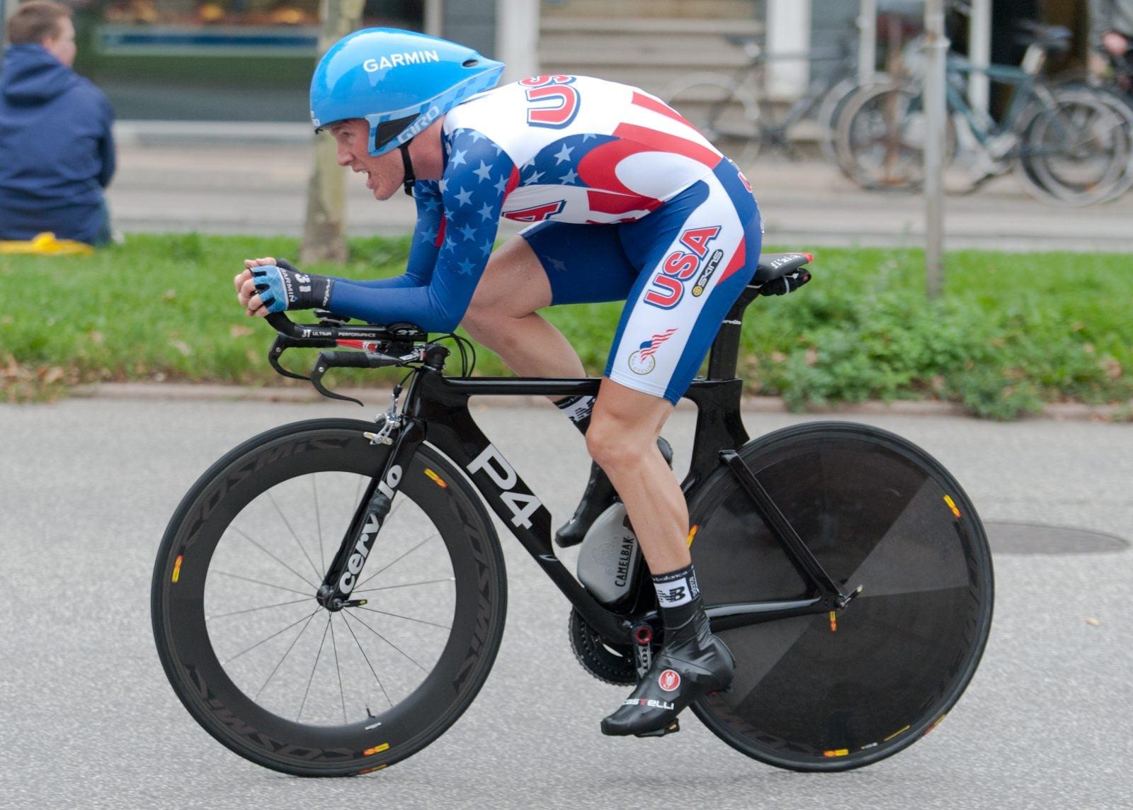 American professional triathlete Andrew Talansky