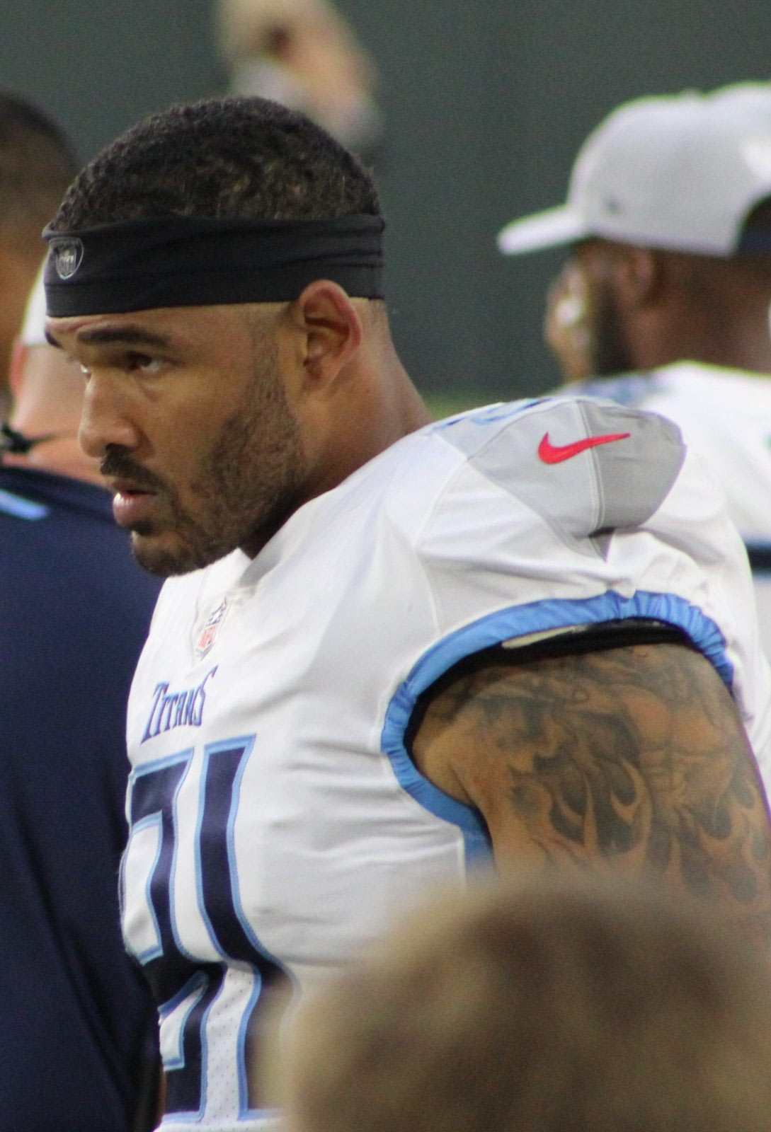 Former American football linebacker for the Tennessee Titans, Derrick Morgan