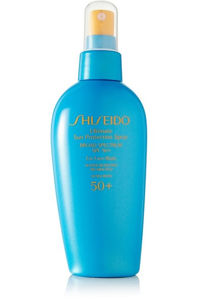 Shiseido Ultimate Sun Protection Spray can protect from sun damage