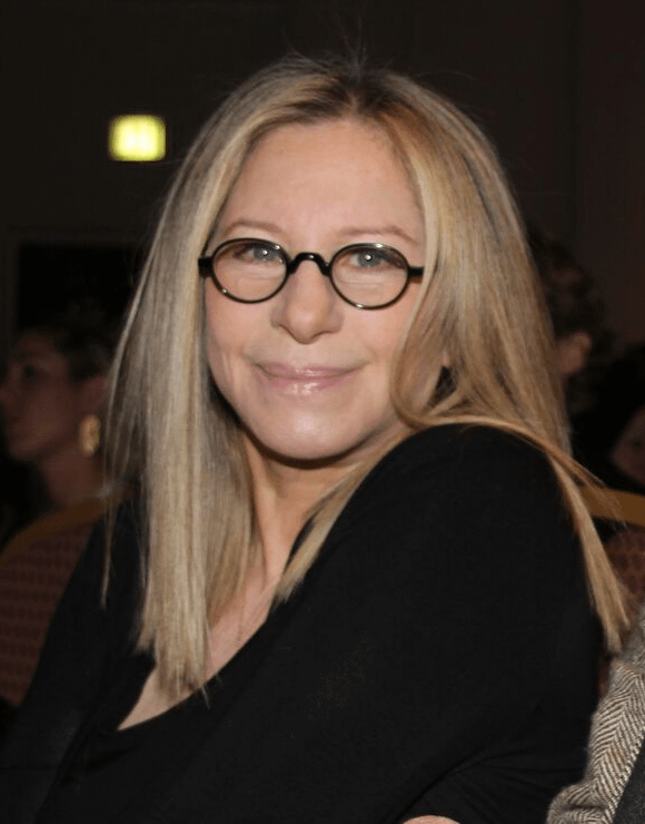 Barbara Streisand dealing with social anxiety