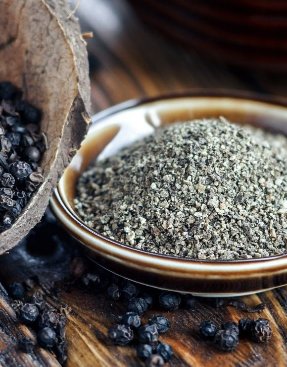 Ground black pepper used for anti-inflammation