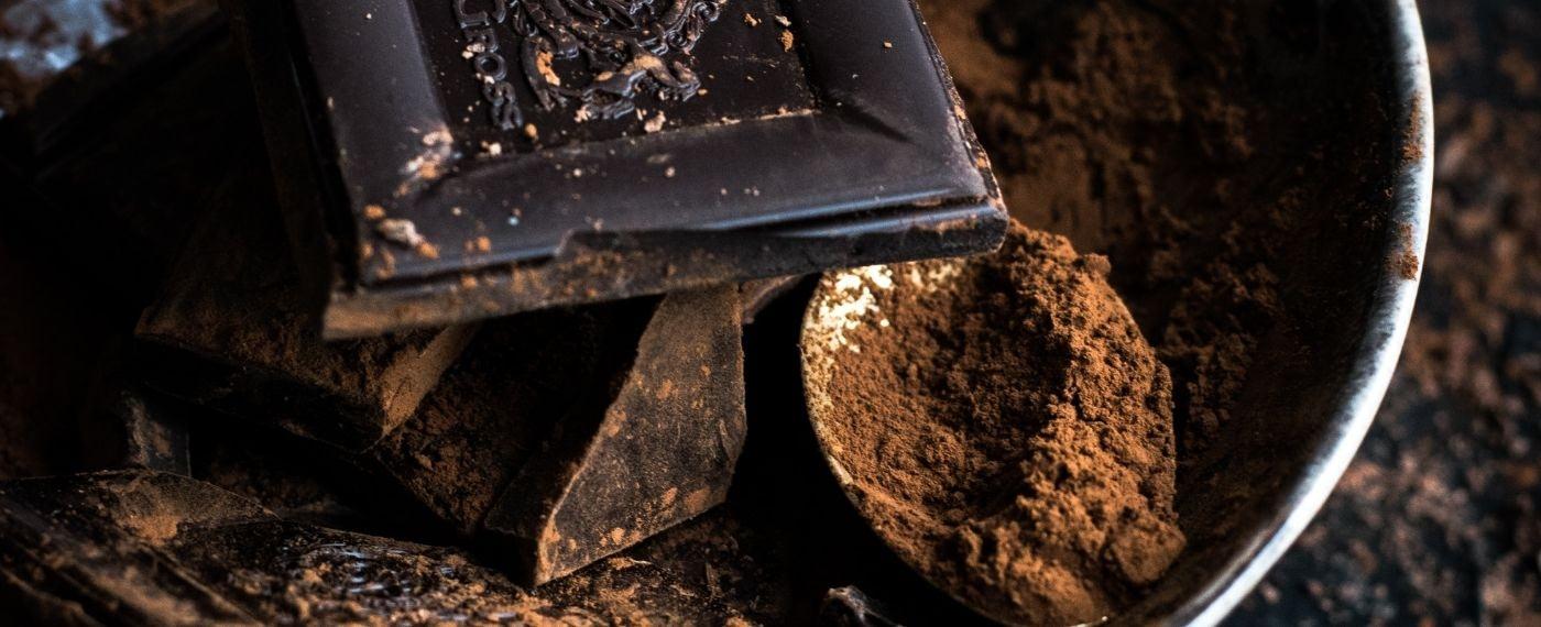 Delicious dark chocolate rich with antioxidants