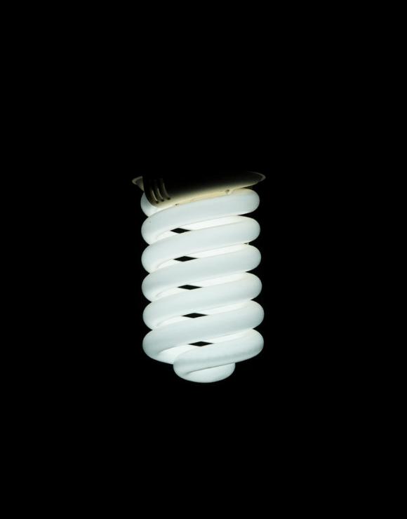 an energy efficient light bulb