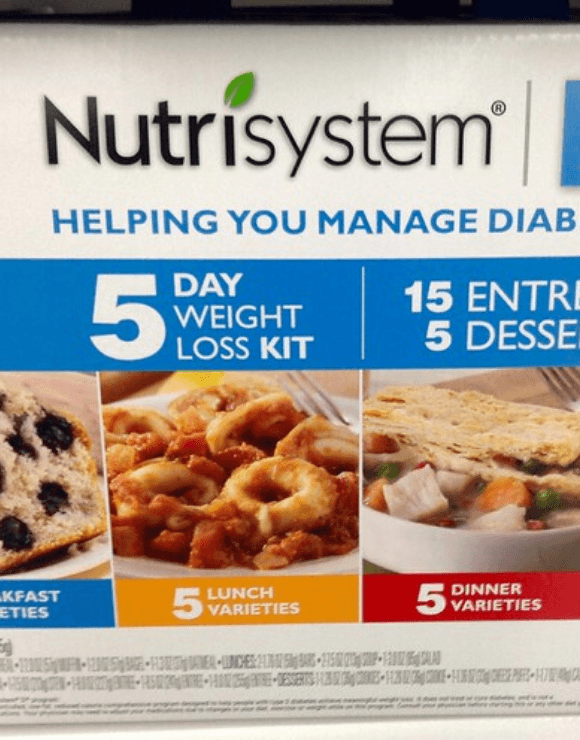Nutrisystem diet weight loss kit trend