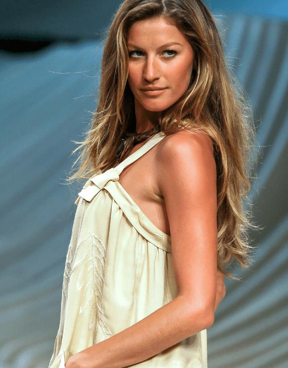 Victoria secrets model Giselle Bundchen