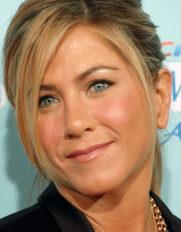 Jennifer Aniston smiling for a photo