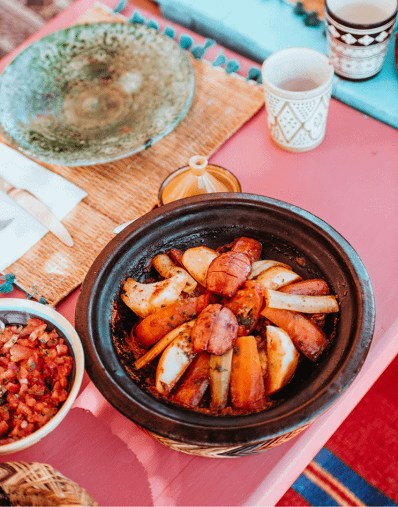 Moroccan Tagines in a bowl